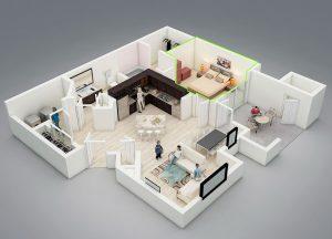 Reforma dormitorios Gijón